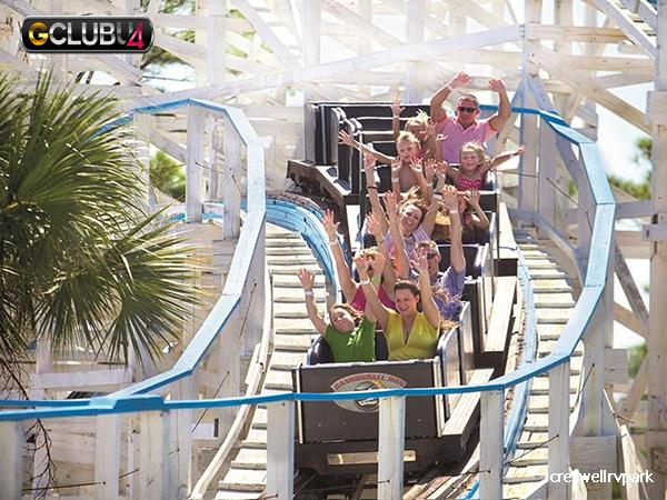 สวนสนุกที่ดีที่สุดในทุกรัฐของสหรัฐอเมริกา